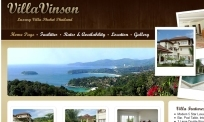 villa vinson website